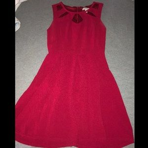 Little Red Dress... WITH POCKETS!
